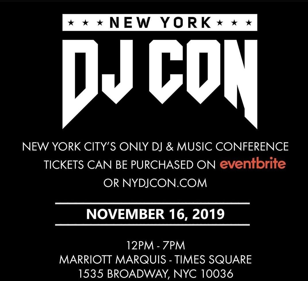 2019 New York DJ Con Listen to the DJ Promo
